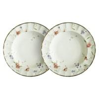 Набор из 2-х суповых тарелок из фарфора «Флёр»