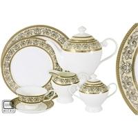 Чайный сервиз из костяного фарфора на 12 персон «Престиж»