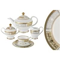 Чайный сервиз из фарфора на 6 персон «Августина»