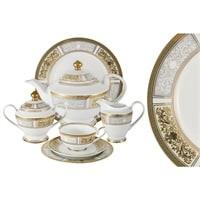 Чайный сервиз из фарфора на 12 персон «Августина»
