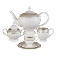 Чайный сервиз из костяного фарфора на 6 персон «Антуанетта»