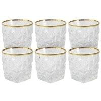 Набор из 6 стеклянных стаканов для виски «Энигма»