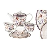 Чайный сервиз из костяного фарфора на 6 персон «Королева Анна» (Emily)