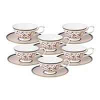 Чайный набор из костяного фарфора на 6 персон «Королева Анна» (Emily)