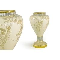 Декоративная ваза «Глициния» кремовая