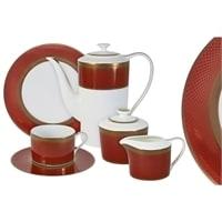 Чайный сервиз из костяного фарфора на 6 персон «Кармен»