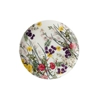 Тарелка из костяного фарфора «Лютик» в подарочной упаковке
