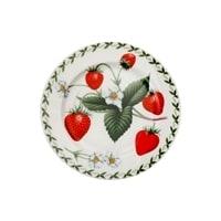 Тарелка из костяного фарфора «Земляника» в подарочной упаковке