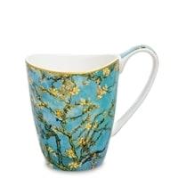 Кружка из костяного фарфора «Ветки цветущего миндаля» (Ван Гог)