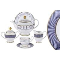 Чайный сервиз из фарфора на 6 персон «Адмиралтейский»