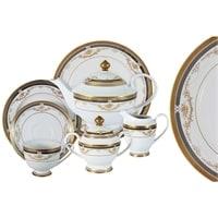 Чайный сервиз из фарфора на 12 персон «Петергоф»