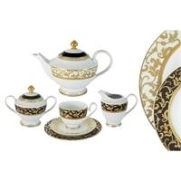 Чайный сервиз из фарфора на 6 персон «Толедо»