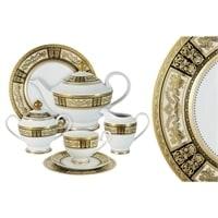 Чайный сервиз из фарфора на 12 персон «Елизавета»