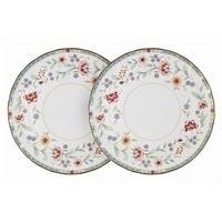 Набор из 2-х обеденных тарелок из костяного фарфора «Грейс»