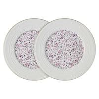 Набор из 2-х обеденных тарелок из костяного фарфора «Стиль»