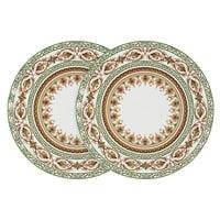 Набор из 2-х обеденных тарелок тарелок из костяного фарфора «Надин»