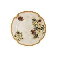 Блюдо круглое «Роза и малина»