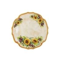 Блюдо круглое «Подсолнухи Италии»