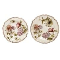 Набор тарелок: суповая и обеденная «Сады Флоренции»