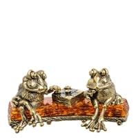 Фигурка «Лягушки на пне» AM-1394