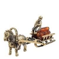 Фигурка «Лошадка с санями» AM-1583