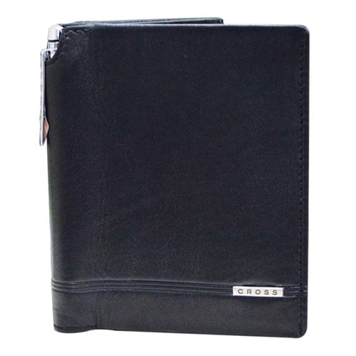 Бумажник большой Cross Classic Century Cross Global Travel Wallet with Cross Pen Black