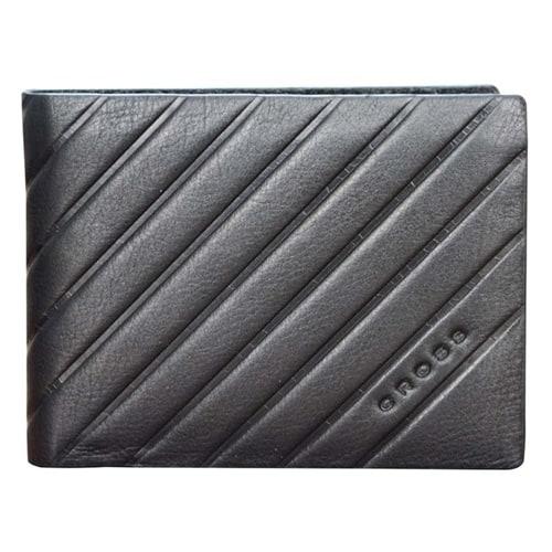 Кошелёк Cross Grabado Slim Wallet Black