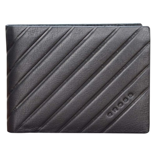 Кошелёк Cross Grabado Overcard Wallet Black