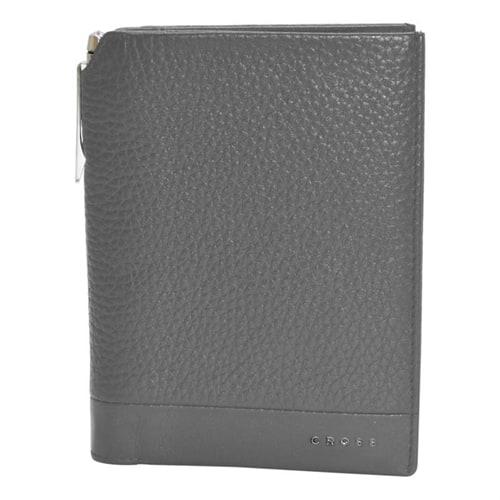 Обложка для документов Cross Global Passport Wallet Nueva FV with Cross pen Gray