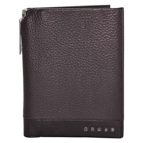 Обложка для документов Cross Global Passport Wallet Nueva FV with Cross pen Brown