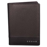 Обложка для кредитных карт Cross Folded ID Card Case Nueva FV Brown