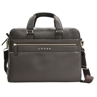 Портфель тонкий Cross Genuine Leather Briefcase Nueva FV Brown