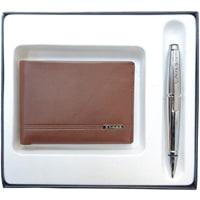 Подарочный набор Cross AC018068-3NAB: портмоне и ручка