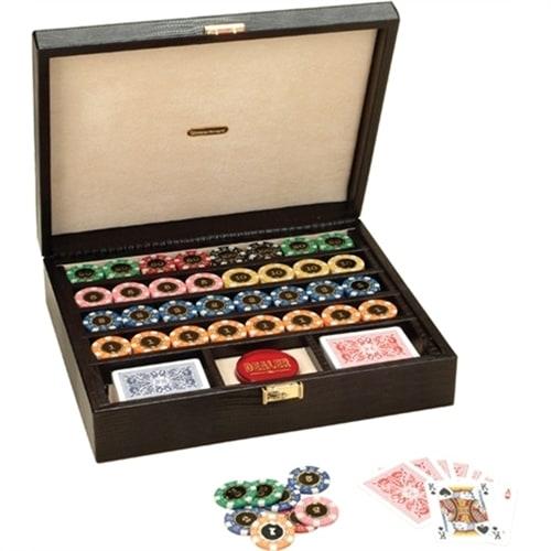 Набор для покера Renzo Romagnoli в черном кейсе 320 фишек