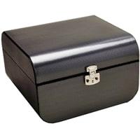 Набор для покера Renzo Romagnoli в черном-сером боксе,160 фишек, пластик,2 колоды карт, фишка дилера