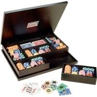 Набор для покера Renzo Romagnoli в деревянном кейсе, 260 фишек, пластик, 4 колоды карт