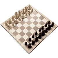 Шахматы Classic, доска - спресcованный картон, фигуры - дерево, 365 х 365 мм
