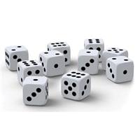 Набор игральных кубиков CLASSIC, 10 штук
