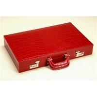 Нарды Renzo Romagnoli Red Crocco Backgammon Case – K4087CR
