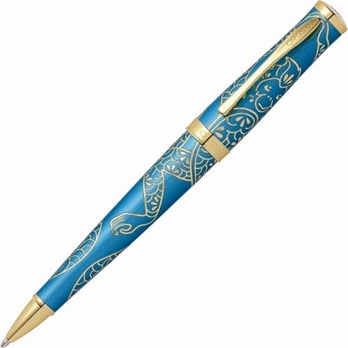 Шариковая ручка Cross Sauvage Year of the Monkey Tibetian Teal