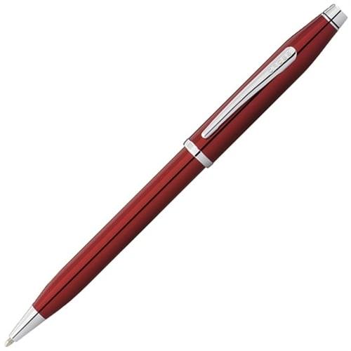 Шариковая ручка Cross Century II Translucent Red Lacquer