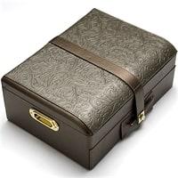 Набор столовых приборов в в кожаном чемодане на 12 персон МВ-23454 – 23454