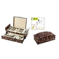 Набор столовых приборов в подарочной упаковке на 12 персон МВ-24195 – 24195