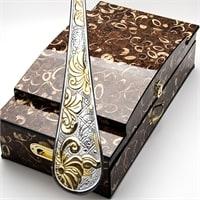 Набор столовых приборов в подарочной упаковке на 12 персон МВ-24196