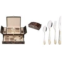 Набор столовых приборов в подарочной упаковке на 12 персон МВ-23449 – 23449