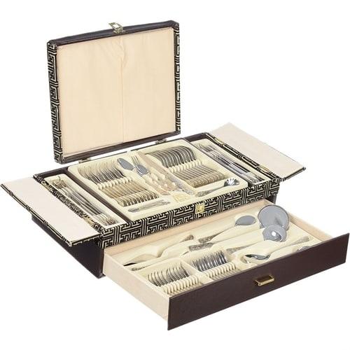 Набор столовых приборов в подарочной упаковке на 12 персон MB-21662
