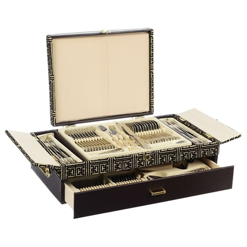 Набор столовых приборов в подарочной упаковке на 12 персон МВ-21663