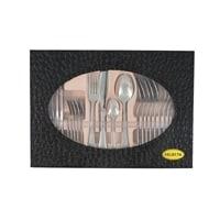 Набор столовых приборов в подарочной упаковке на 6 персон «Лейпциг» золотой