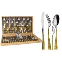Набор столовых приборов на 12 персон «Dubai Oro»