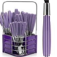 Набор столовых приборов MB-23240-2 (фиолетовый)
